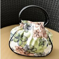 Wholesale Buy Dress Bags - Mobile phone zero wallet mini flower PU small bag middle aged mother buy the hand of a woman in the elderly carry a small bag