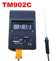 Wholesale Thermocouple Probe Digital - K type TM902C digital Thermometer tester temperature meter Thermocouple Needle Probe -50C to1300C For Lab Factory