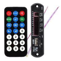 Wholesale Mp3 Module Sd - Black Remote SD MP3 Player ZTV-M011 Remote Controller Module FM USB 2.0 3.5mm out jack Y8