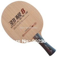 Wholesale Table For Pingpong - DHS POWER.G8 (PG8, PG 8) 5-Wooden Attack+Loop OFF+ Table Tennis Blade for PingPong Racket