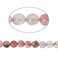 Wholesale Labradorite Rounds - Watermelon Stone(Manmade)Loose Beads Round Multicolor About 10mm Dia,Hole:0.5mm,40cm long,1 Strand(About 39 PCs) 2016 new