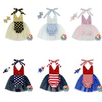 Europa bontique Baby Body Infant Halter Strampler Kleid Pailletten Straps Jumpsuit + Stirnband 2pcs Klettern Sets Kinder Kleidung