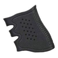 Wholesale Airsoft Ipsc - 2016 Airsoft sports Gun Ipsc Tactical GLOCK Antiskid Rubber Grip Glove for Glock 17 19 20 21 22 23 25 31 32 34 35 37 38