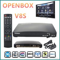 OPENBOX V8S Smart Digital HD Freesat PVR récepteur TV satellite double CPU avec 2 * USB Slot WIFI 3G Youporn CCCAMD NEWCAMD