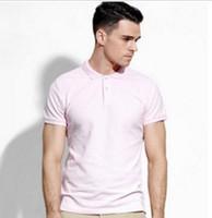 Wholesale Custom Shirt Designer - Fashion Popular LYLE Eagle Embroidery Classic Fit Golf men's polo shirts Custom Designer men casual cotton blend men's Tee polos size S~3xl