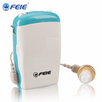 Wholesale More Cheaper - Body Worn Analog Small Hearing Aid Sound Amplifier S-6D for 2016 More Cheaper buy More