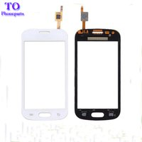 Wholesale Screen Glass Trend - New Touch Screen Digitizer Glass Sensor For Samsung Trend Lite S7392 S7390 white balck Free shipping