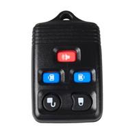 fob de reemplazo de entrada sin llave al por mayor-Reemplazo garantizado 100% 5Buttons Keyless Remote Fob Key Shell Car Case RUBBER PAD SHELL ENTRADA SIN LLAVE PARA FORD Envío Gratis