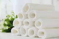 Wholesale Diapers Can - Ecological cotton six layers of baby diapers, baby diapers of green environmental protection, can clean reusable baby cloth diaper pad diape