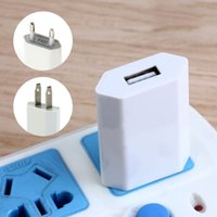 Wholesale Usb Duck - 5V USB Port EU US Plug Duck Power Charger Head Home Travel Wall Charger Adapter For Smartphone iPhone 6 6s 7 plus Samsung Xiaomi