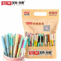 Wholesale SCM Korea Creative Company Stationery Gel Pen Mix Pens Supplies