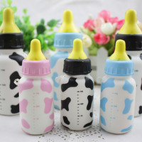 Pastel De Leche Baratos-Botella de leche Baby Fedding Squishy Toys Jumbo Slow Rising Cellphone Charms Scented Pan Cake Kids Toys regalo