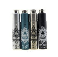 Vaporizer Rogue USA Kit mit Rogue Mechanik Mod REBUILDABLE Dripping RDA Atomizer 18650 Vapor mods e Zigaretten TZ722