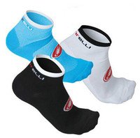 Wholesale Socks For Hiking - Mountain Cycling Socks Deodorant High Basketball Running Sport Socks MTB Road Bike Bicycle Cycling Socks For Unisex