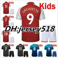 Wholesale Alexis Sanchez - 2017 2018 kids Soccer Jersey sanchez OZIL ALEXIS RAMSEY WALCOTT WILSHERE 17 18 Children GIROUD LACAZETTE XHAKA GIROUD Football Shirts