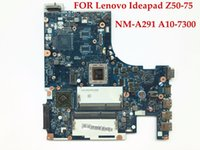 Wholesale amd cpu sockets - Wholesale ACLU7 ACLU8 NM-A291 For Lenovo Ideapad Z50-75 Laptop Motherboard A10-7300 CPU DDR3L 100% Fully Tested