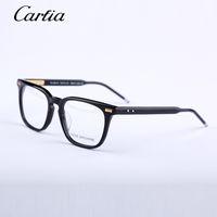Wholesale Glasses Frames Eyeglass - Men Women Optical acetate prescription spectacle Square Thom tb402 TB-402 Myopia Eye glasses Frame Eyeglasses Frame 53mmwith original case