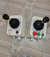 Wholesale Crane Plastics - 2 pieces (slewing and trolley) the joystick for potain crane without the plastic box free shipping by DHL