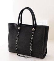 Wholesale Discount Fashion Handbag - C canvas shopping handbag women shoulder bag classic high quality brand designer fashion luxury famous free shipping promotional discount
