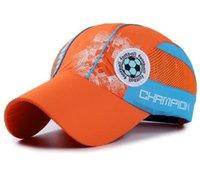 Wholesale Baby Mesh Hat - Raglaido Children Sun Hat Cap Baby Baseball Cap Kids Football Embroidered Waterproof Quick Dry Mesh Visor Hats LQJ01130