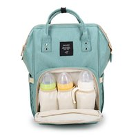 Wholesale Fabric Nurses - Diaper Bags Mommy Backpack Nappies Backpack Fashion Mother Maternity Backpacks Outdoor Desinger Nursing Travel Bags Organizer