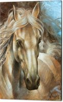 Wholesale High Quality Horse Oil Painting - horse-head High Definition Artwork Unframed Wall Art on Sale Animal Oil Painting on Canvas Design High Quality