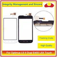"Wholesale Lg Optimus L5 Dual - High Quality 4.0"" For LG Optimus L5 II E460 E450 L5 II Dual E455 L5X Touch Screen Digitizer Outer Glass Lens Panel"
