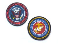 Wholesale Good Tactic - 2016 50 PCS SEAL of the President of the United States 3D PVC Patch Armband TACTICAL Rubber Tactics Gear Waterproof Patch 2196