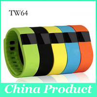 Wholesale Bluetooth Fashion Bracelet - Smart Wristbands Tw64 Sport Watches Bluetooth Smart Bracelet Wristband Fashion Fitness Band Iphone and Android Better