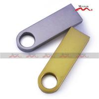 Wholesale Free Customized Laser Engraved Logo MB MB MB GB GB GB GB GB Metal USB Drive Memory Flash Pendrive Sticks True Storage