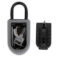 Wholesale Password Storage - Keys Safe Box Digit Wall Mount Combination Lock With Four Password Key Storage Box Zinc Alloy Material Security Organizer Boxes