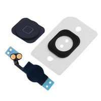 Wholesale keys caps rubber - Joemel for iphone 5 Home Button Replacement Key Cap Flex Cable Assemble Rubber Gasket