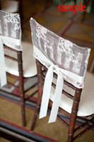 ingrosso nastro jacquard d'epoca-2015 Lace Ribbon Vintage Romantic Beautiful Chair Sash Campione 05