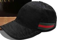 Wholesale New Designs For Caps - New design 100% Cotton Luxury brand Caps Embroidery hats for men Fashion snapback baseball cap women casual visor gorras bone casquette hat