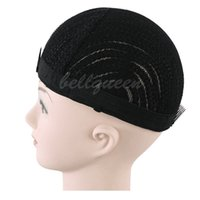 Wholesale Cheap Braided Wigs - braided Cornrows Wig Cap For Making Wigs Easier Sew Ins Cheap Adjustable Wig Cap Glueless Hair Net Liner Crochet Wig Caps 1 pcs