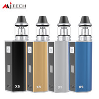 Mjtech OLAX X9 kit 2017 Nueva Llegada Ecigarette Vape Cigar Mod 80W NO 18650 BatteryVariable Voltage Factory Al Por Mayor envío gratis DHL