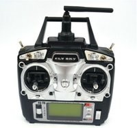 Wholesale Radio Transmitter Receiver For Rc - drone FlySky FS-T6 FS T6 2.4G 6CH TX RX FS-R6B RC Radio Control Transmitter Receiver System