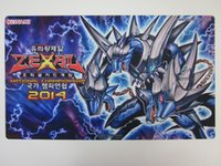 Wholesale Customised Bags - Yugioh Playmat WCQ WCPS TCG ARC-V YCS MTG... mats Playmat customised yugioh personalized mat for the cartoon game pad to make a delivery bag