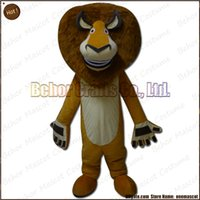 Mascot Costumes XXS mascot cartoon cosplay costume Hot lion mascot costume EMS free shipping, cheap high quality carnival party Fancy plush walking lion mascot cartoon adult size.