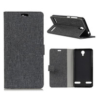 Wholesale Zte Blade Cases - Grain Line TPU Flip Cover Card Slot Wallet Cell Phones Cases for iphone X 8 7 PLUS Samsung ZTE AXON 7 MINI BLADE 8 Plug Huawei Moto OPP Bag