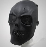 Wholesale airsoft skull mask for sale - Airsoft Mask Skull Full Protective Mask Military Festive Party Supplies Party Masks