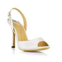 Wholesale Sexy Ladies Heel Shoes - plus size 35-43 hot sale 2016 new silk fashion high heel sandals sexy peep toe ladies party pumps sandalias elegant women shoes high quality
