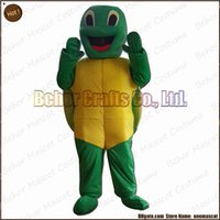Wholesale Tortoise Costumes - Hot tortoise mascot costume free shipping, high quality cheap plush cuckold girl mascot cartoon adult, accept OEM order.