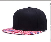 Wholesale Dancer Hip Hop - Street dancers fashion hat baseball cap the hip-hop flat hat Unisex European and American trend black and pink