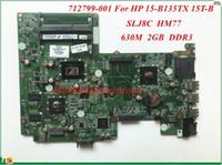 Wholesale Intel Socket B - High Quality Motherboard 712799-001 For HP 15-B135TX 15T-B Laptop Motherboard DA0U36MB6D0 SLJ8C HM77 630M 2GB DDR3 100% Tested