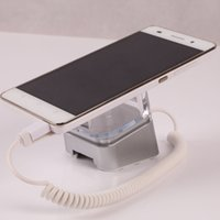 2pieces Retail Shop Klaue Anti-verlorene Display Stand w Alarm und Lade für Iphone / Android Telefon Sicherheit