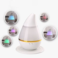 Wholesale Aroma Therapy - White ABS USB Charging 12.8*12.8*15.5cm LED Air Humidifier Incense Burners Essential Oil Ultrasonic Aroma therapy Diffuser 250mL