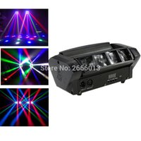 All'ingrosso- Migliore vendita RGBW LED Moving Head Light Mini LED Spider Beam Light DMX512 Disco bar effetto scenografico illuminazione dj attrezzature