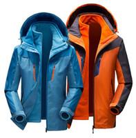 Wholesale Wholesale Outdoor Sportswear - warm Hoodie Jacket men Women Sportswear Clothes Windbreaker Coats sweatshirt Outdoor coats Waterproof Windproof Sports coats KKA2490