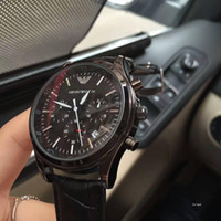 Wholesale First Stainless Steel - Italy brand Men's Watches Gentlemen first choice 42mm6 pin quartz movement scanning high quality luxury GA watches Relogio brand watch